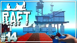 RAFT Survival | Finding The Oasis? | Raft Gameplay Let's Play EP14