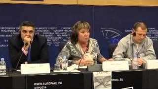 Наталия Витренко в Европарламенте тушит пожар ІІІ мировой войны