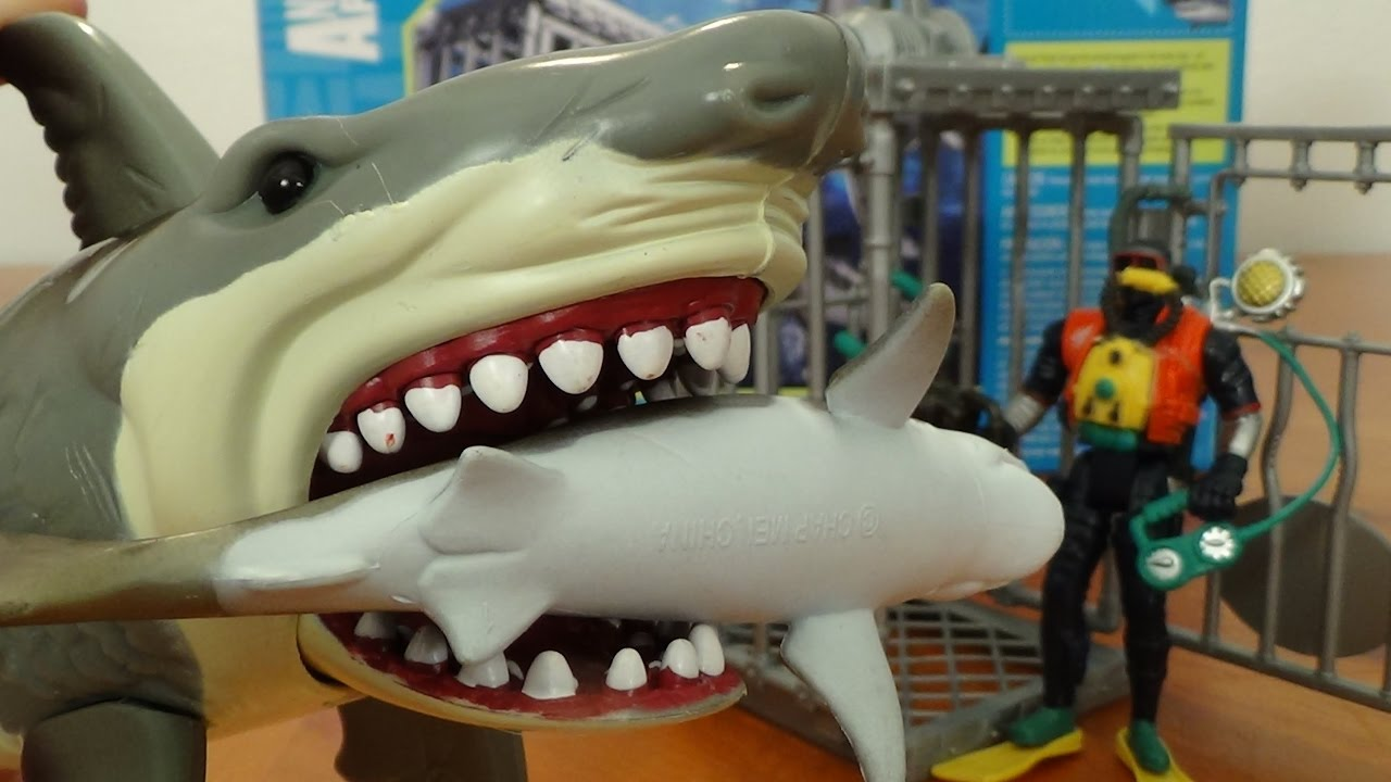 Shark Toy Box : Shark toys collection whales fish turtles jaws for