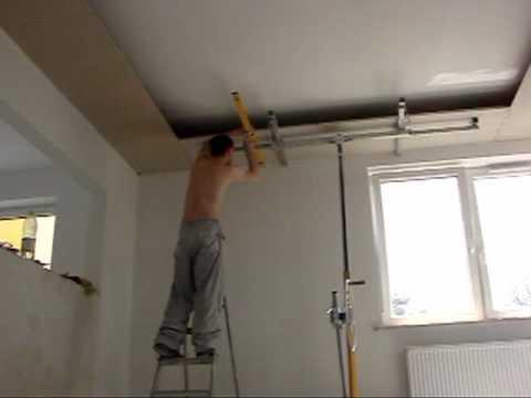 Sufit Podwieszany Drywall Ceiling Youtube