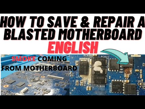 Dell 15 La-b012p Blasted Motherboard Fix | Online Chiplevel Laptop Repairing Video Course | Laptex