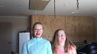 Blindfolded Guess the Food Challenge. Ft. Hayley