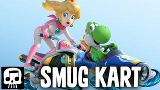 SKULL SUCKS AT VIDEO GAMES - Mario Kart 8 Deluxe Gameplay