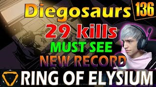 Diegosaurs  29 kills  K LLMACH NE in ACT ON   MUST SEE  ROE Ring of Elysium  G136