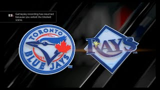 MLB The Show 16 - Toronto Blue Jays vs Tampa Bay Rays Opening Day (FULL GAME)