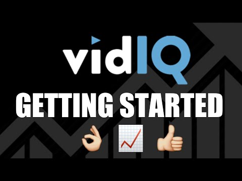 Getting Started with vidIQ Tutorial - More Views on YouTube