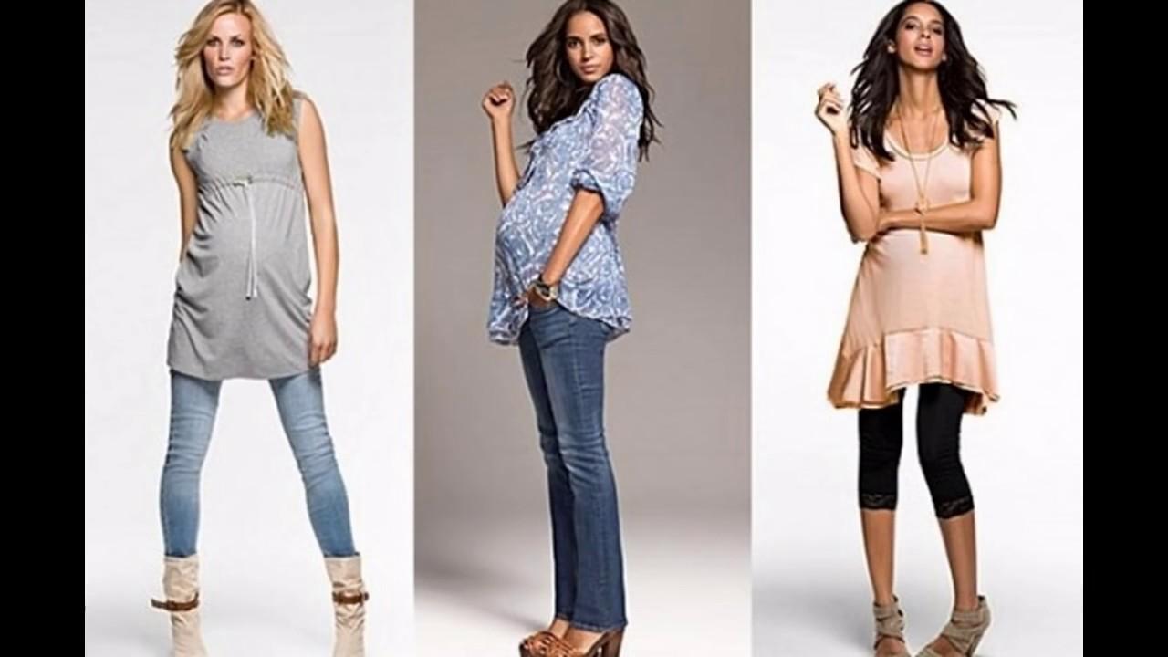 Las últimas tendencias en moda Ropa de moda para mujer embarazada , YouTube
