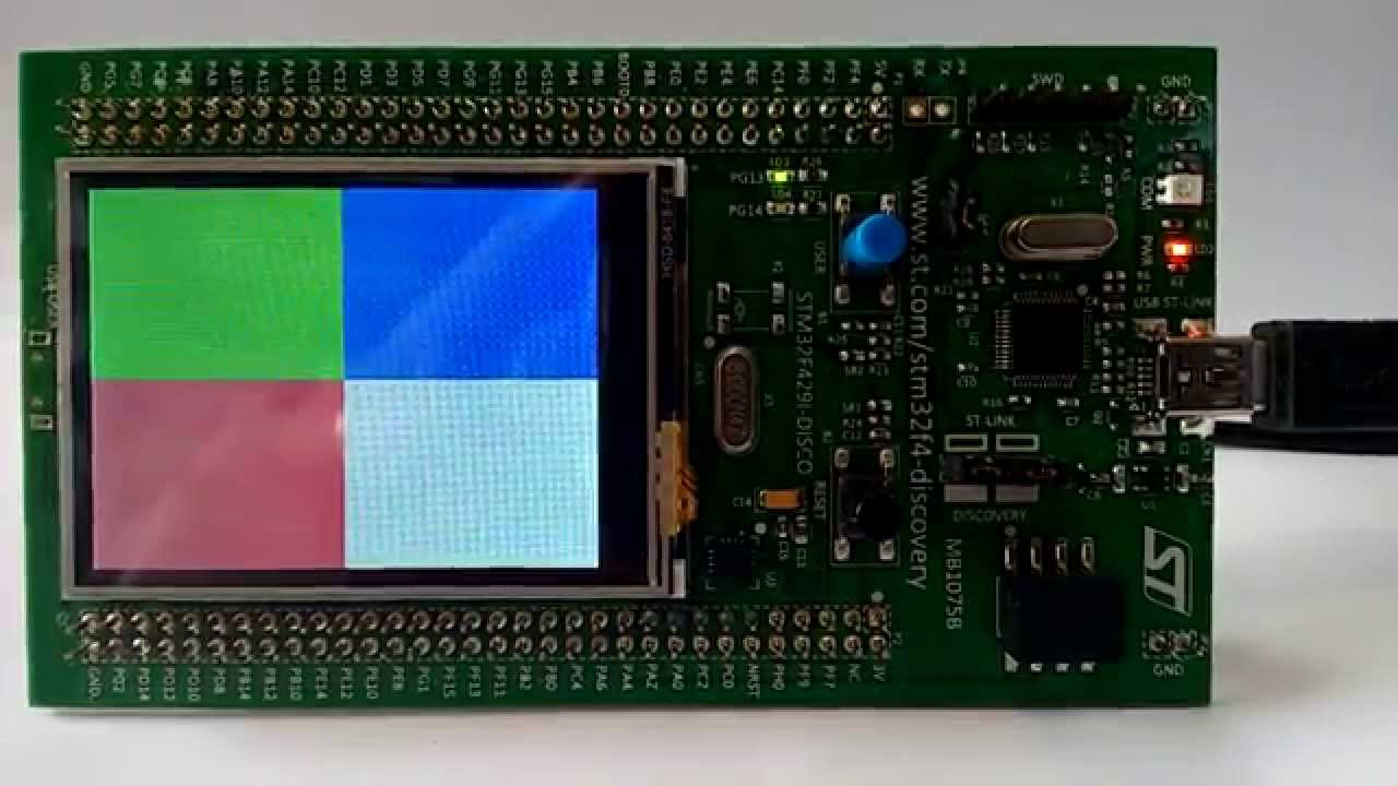 Nuttx on STM32f429 Discovery