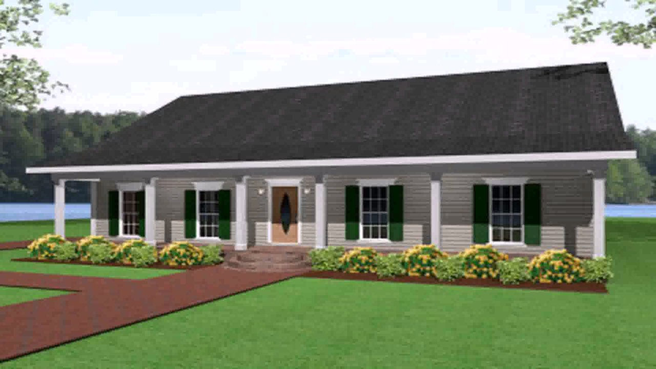 Ranch Style House Plans 1500 Sq Ft - YouTube