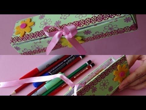 Di? Macunu Kutusundan Kalemlik Yap?m? - DIY Pencilbox - Kolay ve ?irin Bir Geri Dönü?üm