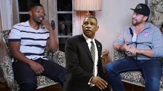 Jamie Foxx hilariously impersonates Clippers HC Doc Rivers