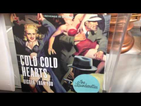 "The Launderettes COLD COLD HEARTS 7"" vinyl"
