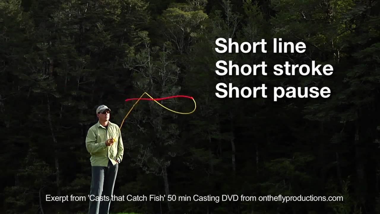 Fly Casting Essentials Essential 3 Vary The Casting Arc