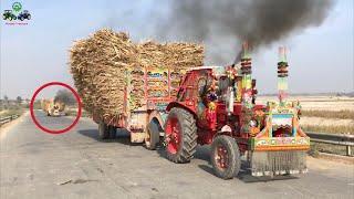 Belarus 510 | Heavy loaded Trolley Power Test in High Gear | Punjab Tractors