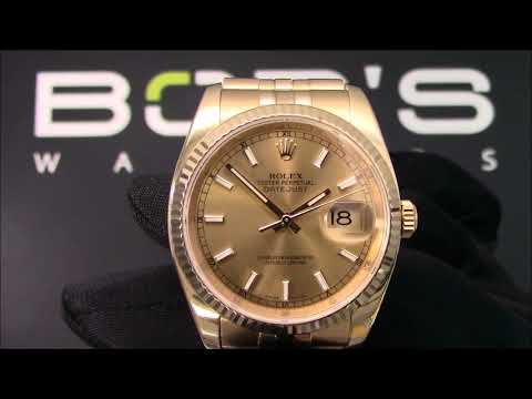 Rolex Datejust 116238 36mm For Sale