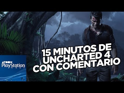 PLAYSTATION EXPERIENCE: GAMEPLAY COMENTADO DE UNCHARTED 4: A THIEF'S END