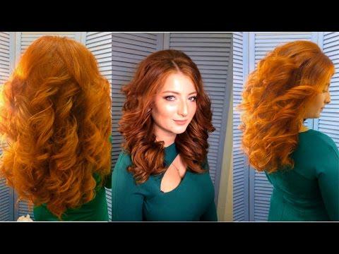 Голливудские локоны. Прическа 2017. Big loose curls
