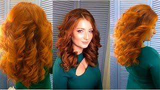 Голливудские локоны Прическа 2017 Big loose curls