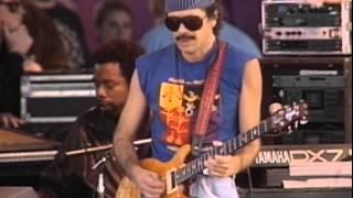 Santana - Full Moon - 11/26/1989 - Watsonville High School Football Field (Official)