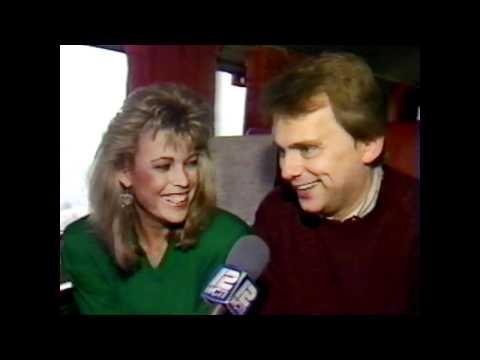 Vanna White / Pat Sajak Interview 1987