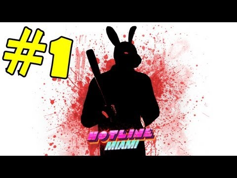 Hotline Miami Walkthrough Part 1 Gameplay Lets Play Review Playthrough Campaign HD PSN