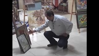 Художественный урок в День знаний в Тарумовском Центре Культуры