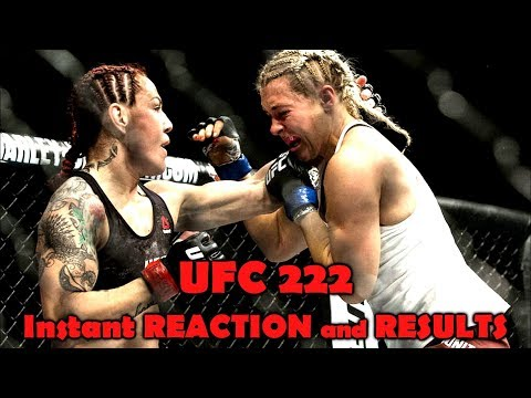 UFC 222: Reaction And Results