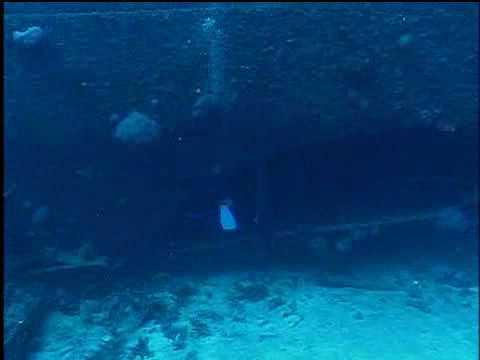 USS Mississinewa Sunk off Ulithi