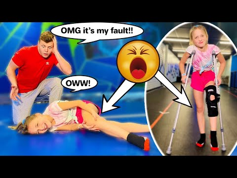 I GOT INJURED WITH INSANE ACROBAT! ft. Shark **He freaked out!** #lillyk #injured