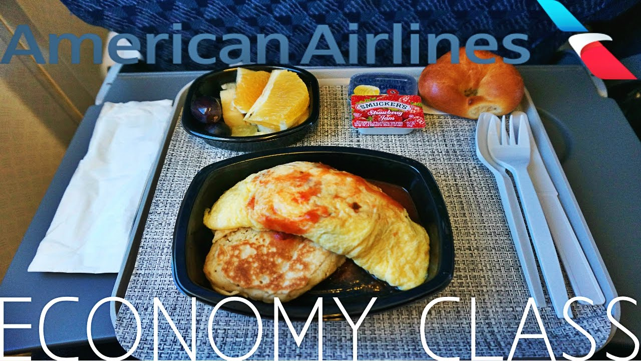 American Airlines Economy Class Lima To Miami Boeing 757