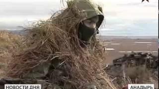 Российские десантники совершили марш бросок в условиях Крайнего Севера