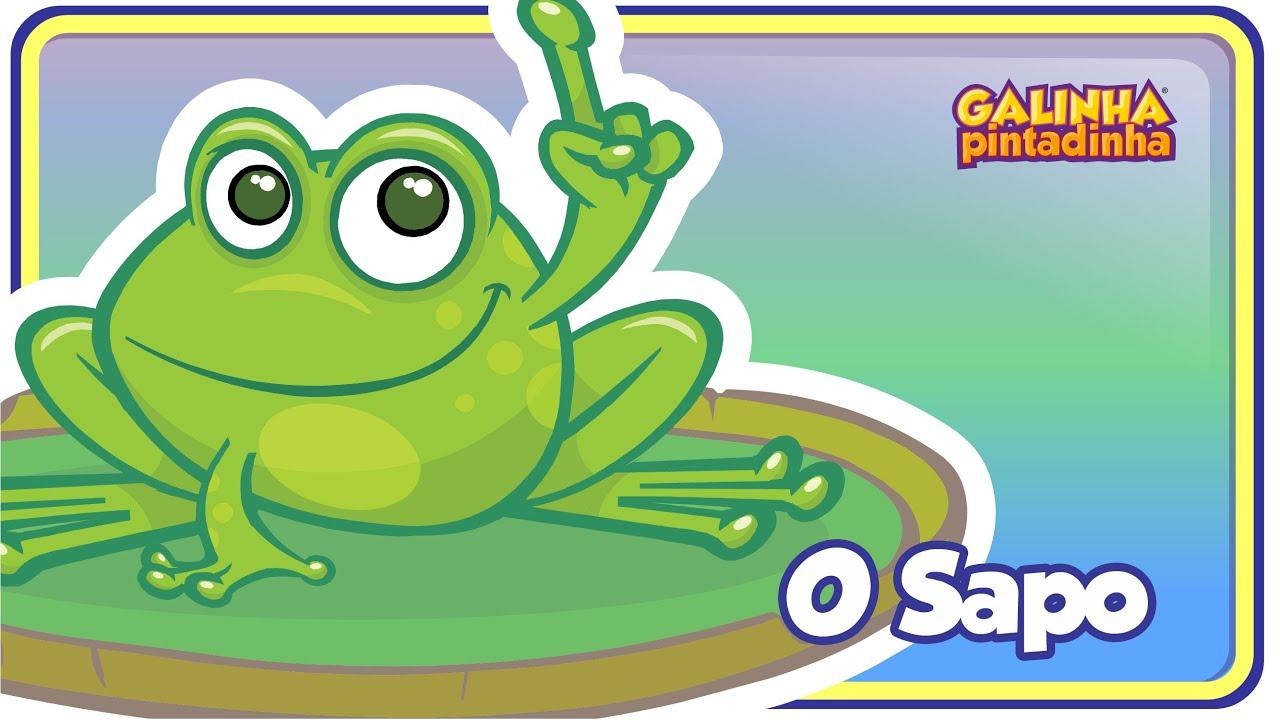 O Sapo não lava o pé - DVD Galinha Pintadinha - Desenho Infantil
