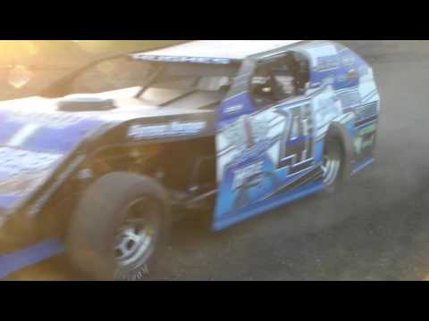 Modified's In Staging @ Hancock County Speedway 05/12/17