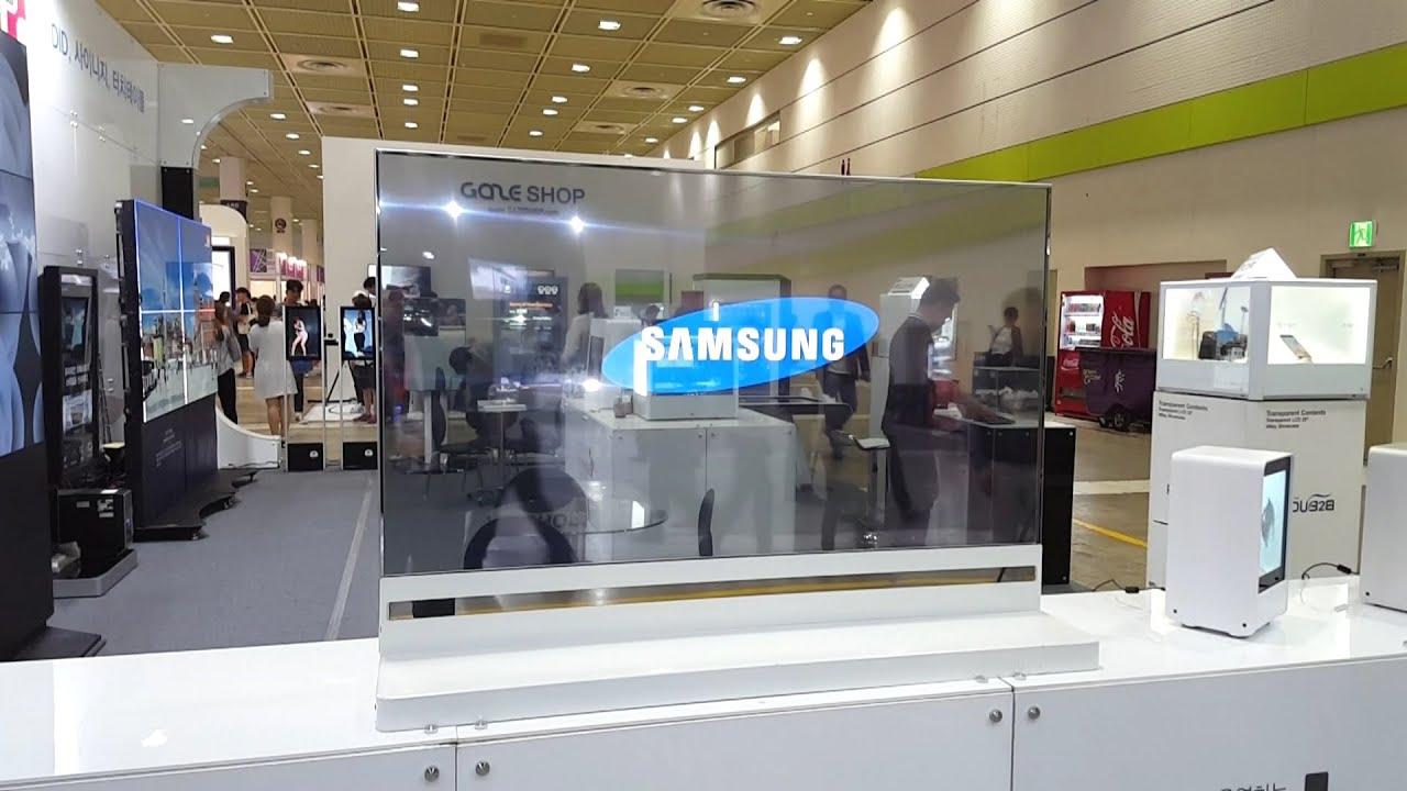 Samsung Transparent Display (1080p)