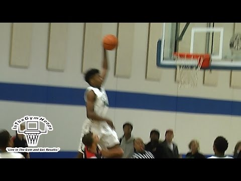 Dunk Of The Day:  Team Harris Aaron Henry TAKES OFF OUTSIDE THE LANE and Gets And One NASTY DUNK!!!