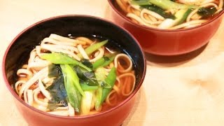 How To Make: Kake Udon (Hot Noodle Soup) - Clearspring Recipe