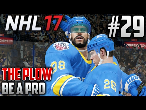 NHL 17 Be a Pro | The Plow (Defenseman) | EP29 | PLAYING LIKE CHAMPS AGAIN