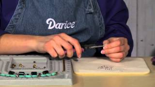 darice jewelry tools working with long nose pliers