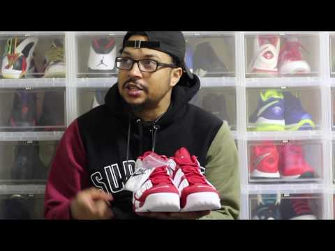 Unboxing: Supreme x Nike Air More Uptempo Red