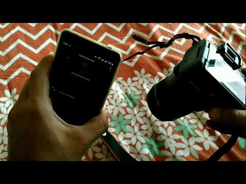 Transfer Video From Canon 200d To Smartphone Via NFC