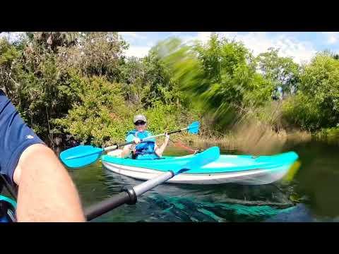 Silver springs kayak GoPro 6 May 2018