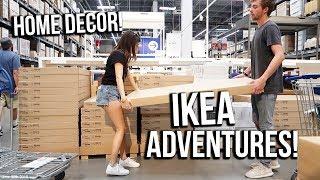 IKEA ADVENTURES!! Buying new home decor!!