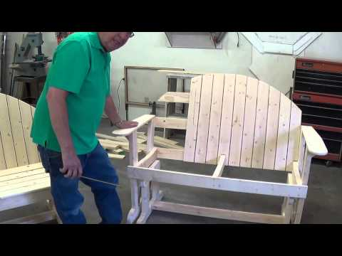 Building A Glider Rocker Love Seat Video #3
