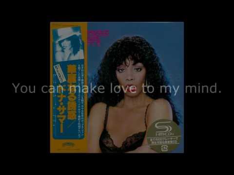 Donna Summer - All Through the Night LYRICS SHM