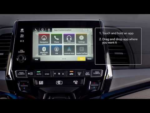 Owners Honda Com >> 2018 Honda Odyssey Display Audio: How to Customize the ...