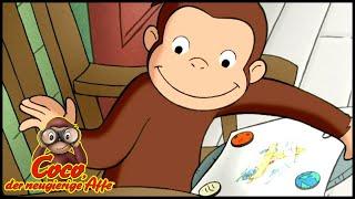 Coco der Neugierige Affe Deutsch🐵Kleine und große Magnete 🐵Ganze Folgen🐵Cartoons für Kinder