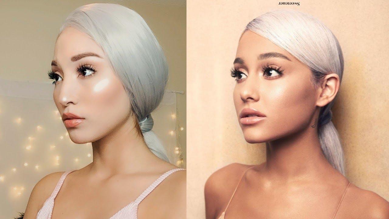 sweetener ariana grande  Ariana Grande Sweetener Makeup Feat. Weekend Wigs - YouTube