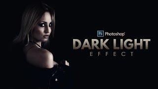 كيفية إنشاء ضوء الظلام صور فوتوشوب - صور تأثير البرنامج التعليمي