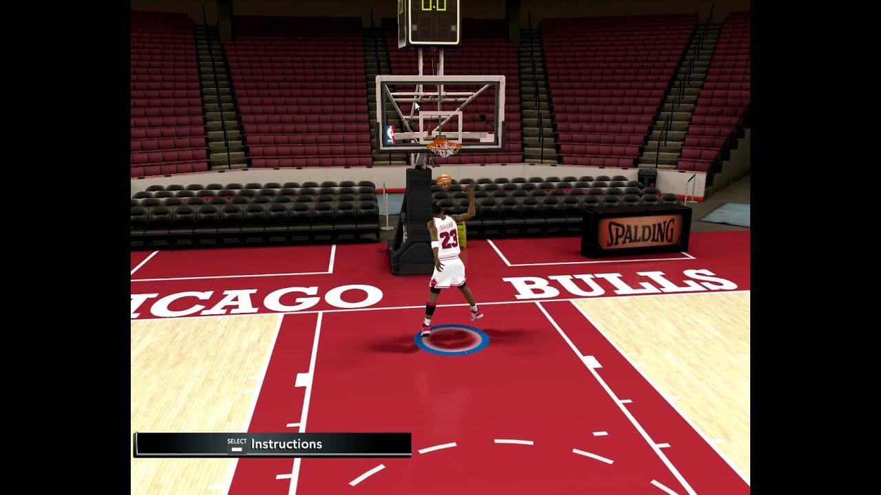 NBA2K11 PC Michael Jordan Free Throw Line Dunk