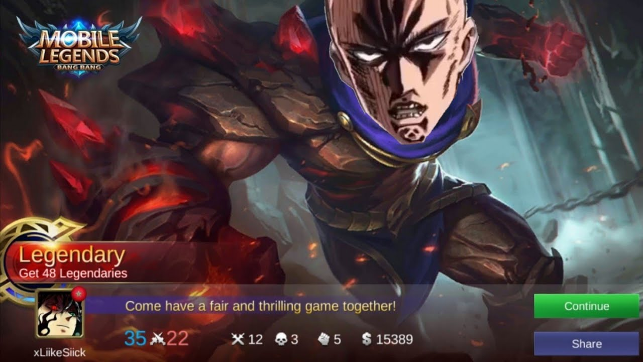Mobile Legends Aldous Epic Gameplay One Punch Man
